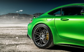 Picture green, style, car, cool, Mercedes GTR
