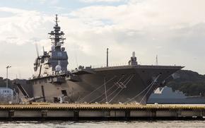 Picture Japan, destroyer, JS Izumo, I. S. Izumo