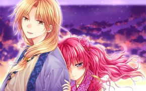 Picture anime, art, Akatsuki no Yona, Jon, Suwon