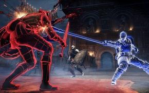 Picture sword, game, armor, fight, ken, blade, shield, warrior, Dark Souls, pearls, spear, Dark Souls 3