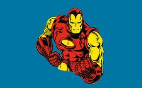 Picture Iron Man, comic, marvel, Marvel Comics, Iron Man