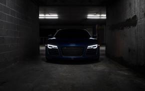 Picture Audi, Blue, VAG, LED