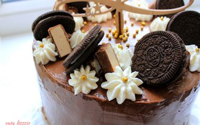 Picture birthday, cake, cake, chocolate, delicious, cream, happy birthday, sweet, oreo, chocalate, beauitiful, the festive atmosphere, ...