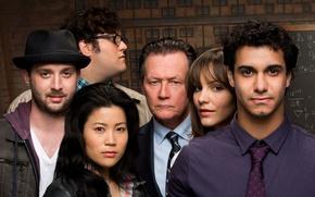 Picture girl, man, Scorpion, asian, oriental, cast, tv series