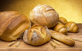 Picture cakes, picture, Golden brown, The bread-to all a head!, The bread on the table, spikelets, …