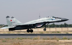 Picture The MiG-29, the fourth generation, The Russian air force, Fulcrum, Airbase, OKB MiG, Soviet multipurpose ...