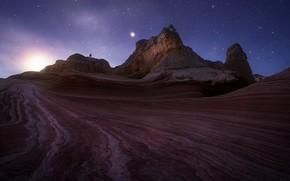 Picture stars, nature, the evening, AZ