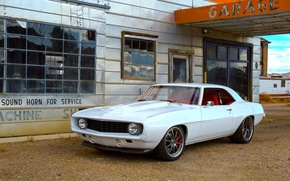 Picture Chevrolet, Camaro, white, Wheels, ZX3P