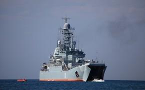 Picture exercises, Azov, the black sea fleet, BDK
