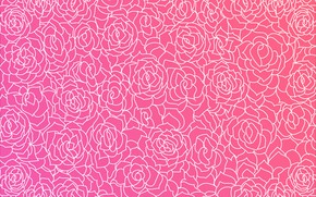 Wallpaper roses, texture, pink, with, background, roses