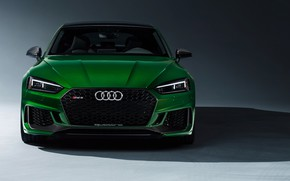 Picture Audi, sedan, front view, RS5, Sportback, RS 5, 2019
