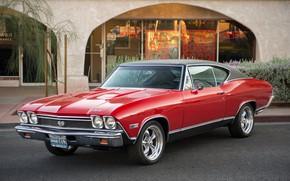 Picture retro, Chevrolet, classic, 1968, Chevelle