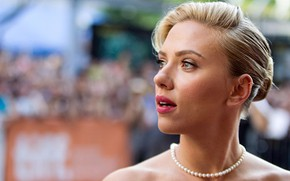 Wallpaper celebrity, blonde, lips, Scarlett Johansson, scarlett johansson