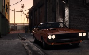 Picture the city, lights, car, car, Grand Theft Auto V