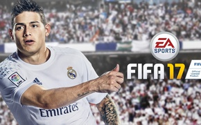 Picture sport, logo, Adidas, stadium, Emirates, football, tatoo, crowd, Real Madrid, Fifa, player, Electronic Arts, fans, …