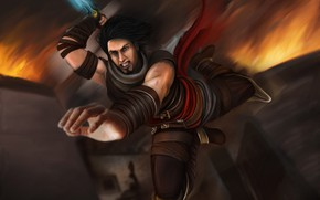 Picture jump, knife, fan art, prince of persia: warrior within, prince of persia the two thrones, ...