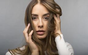 Picture look, face, model, hair, Brenda