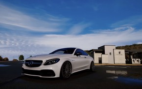Picture GTA V, GTA 5, MERCEDES-BENZ, CITY, GAME, ULTRA REALISTIC GRAPHICS, FULL DH