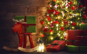 Picture photo, toy, tree, deer, gifts