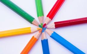 Wallpaper pencils, stylus, drawing