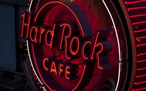 Wallpaper Hard Rock Cafe, city, Cafe, A cafe, the city, The hard Rock cafe
