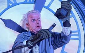 Picture art, Back to the future, Back to the Future, Christopher Lloyd