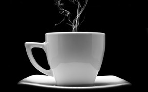 Picture coffee, couples, Cup, saucer, aroma