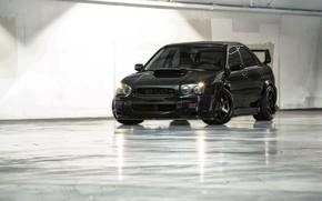 Picture Subaru, Impreza, WRX, STI, Black