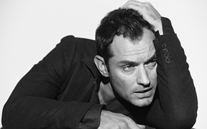 Picture look, pose, actor, actor, Jude Law, Jude Law, look, pose, David Jude Hayworth Low