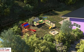 Picture vegetation, channel, structure, Playground, property