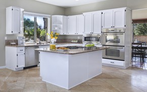 Picture furniture, kitchen, plate, design, kitchen