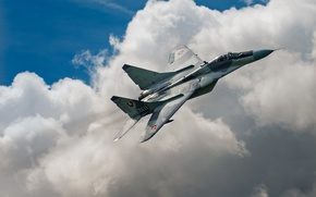 Picture the sky, fighter, MiG-29, The MiG-29, Of the air force of Slovakia