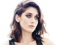 Picture look, makeup, actress, hair, look, pose, actress, makeup, Lizzy Caplan, Lizzy Caplan
