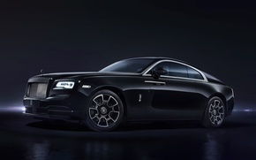 Picture coupe, Rolls-Royce, predstaviteli, Wraith Black Badge