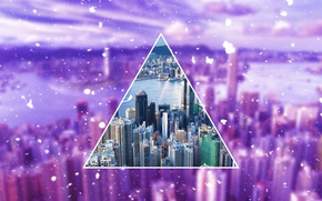 Picture the city, rendering, polyscape