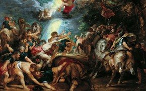 Picture picture, religion, Peter Paul Rubens, mythology, Pieter Paul Rubens, The Conversion Of Saul
