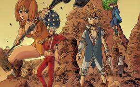 Picture anime, asian, warrior, manga, oriental, asiatic, strong, Nanatsu no Taizai, japonese, The Seven Deadly