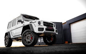 Picture white, mercedes, g63, by-design