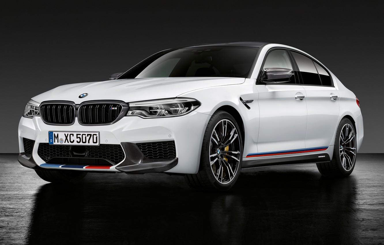Photo wallpaper sedan, 2018, BMW M5, M Performance