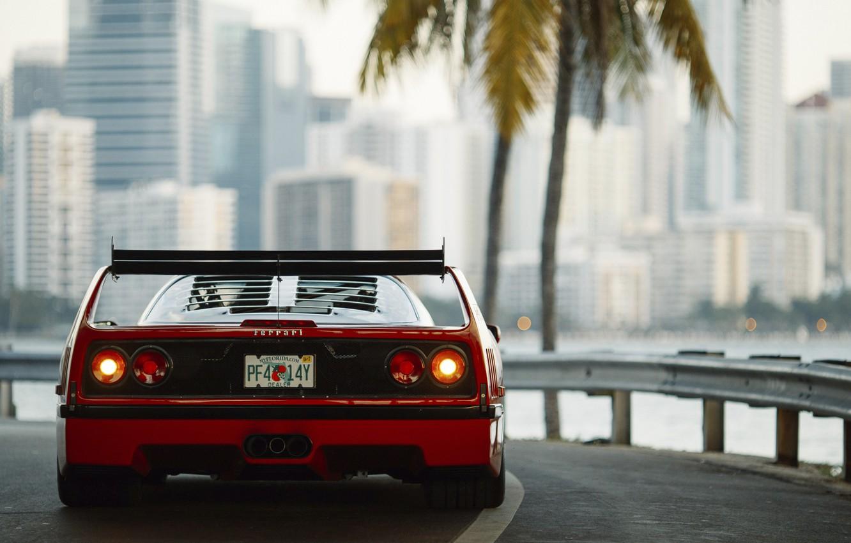 Photo wallpaper ferrari, Ferrari, f40