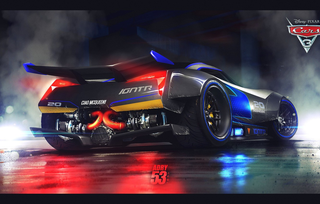 Wallpaper Car Cinema Disney Pixar Cars Race Speed Movie Film Animated Film Fast Animated Movie Cars 3 Images For Desktop Section Filmy Download