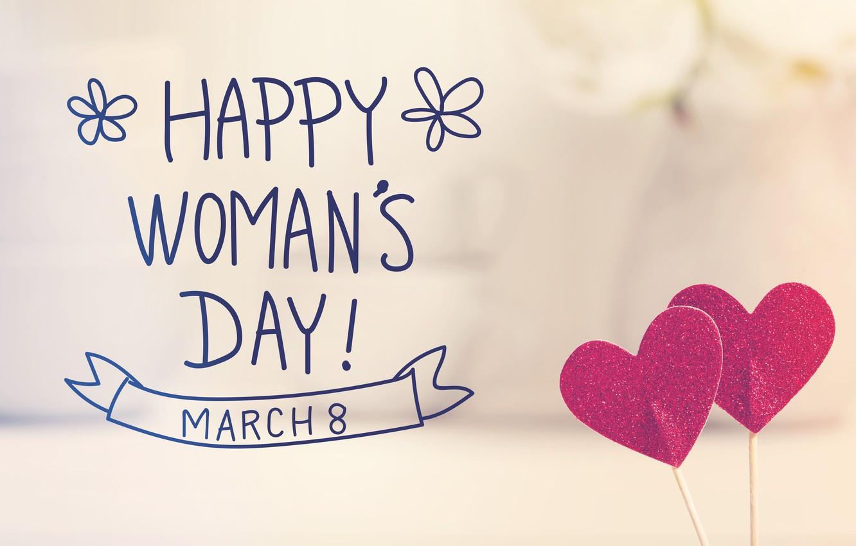 Wallpaper Hearts Happy March 8 Heart Romantic Gift