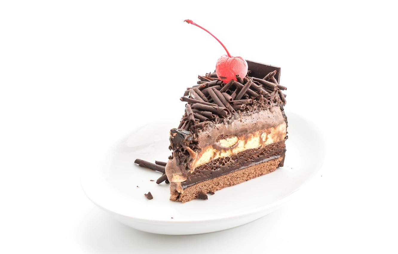 Photo wallpaper chocolate, ice cream, cream, dessert, sweet
