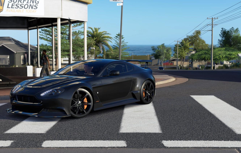 Wallpaper Aston Martin Vantage Gt12 Forza Horizon 3 Images For Desktop Section Igry Download