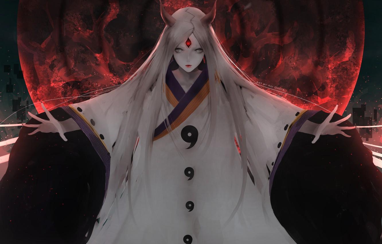 Photo wallpaper anime, art, Naruto, Kagura