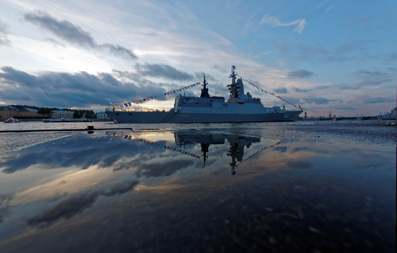 Wallpaper Corvette, patrol ship, brisk images for desktop