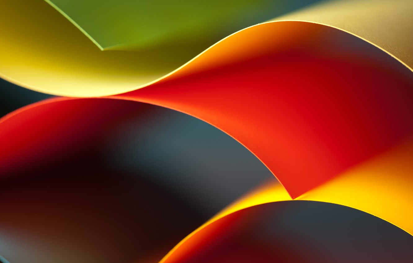Photo wallpaper abstraction, background, rainbow, abstract, Rainbow, background, Kolor, colored, wavy