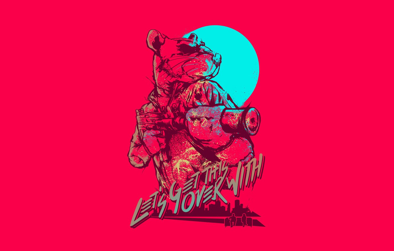 Wallpaper The Game Background Miami Character Rat