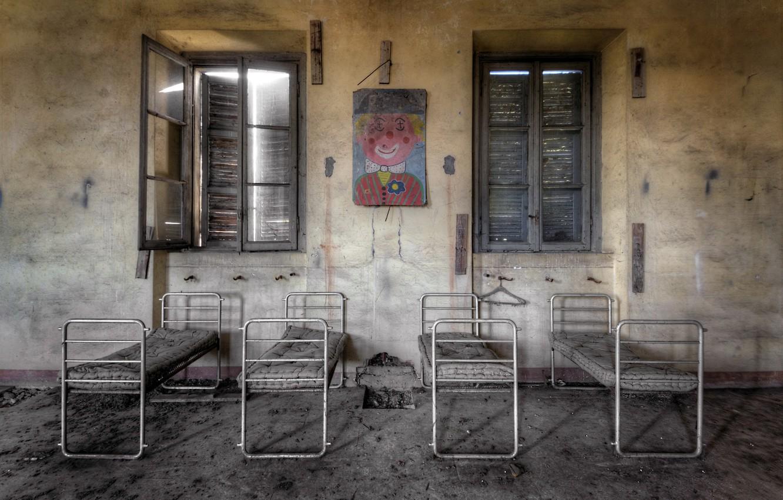 Photo wallpaper hospital, chamber, the children's Department