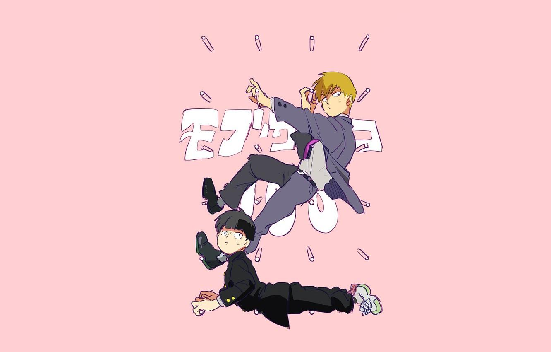 Wallpaper Anime Art Guys Mob Psycho 100 Mob Psycho 100 Images